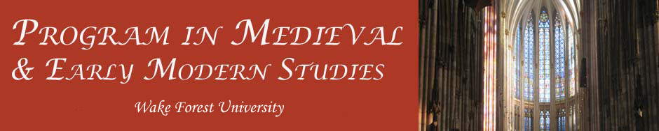 Program in Medieval and Early Modern Studies